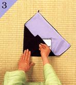 台付帛紗のつつみ方手順3
