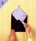 台付帛紗のつつみ方手順4