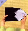 台付帛紗での渡し方手順2