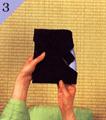 台付帛紗での渡し方手順3