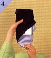 台付帛紗での渡し方手順4